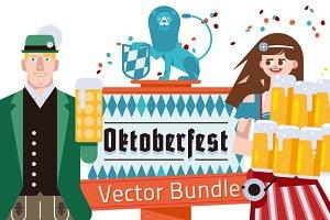 Beerfest Oktoberfest Vector Bundle