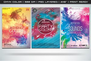 Colorful Flyers Bundle 5