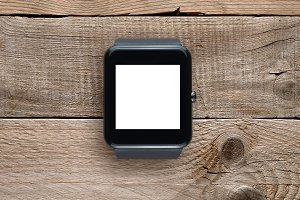 Smartwatch with blank screen