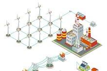 Windmil turbine power