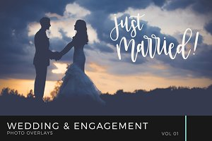Wedding & Engagement Overlays Vol 1