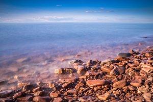 Lake Superior, beautiful macro-landscape