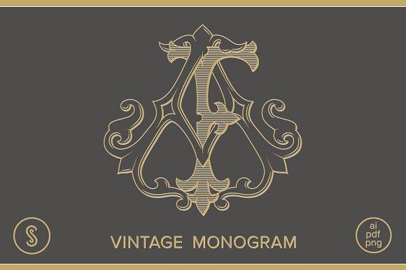 AF Monogram FA Monogram