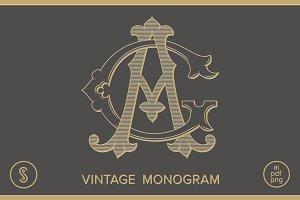 AG Monogram GA Monogram