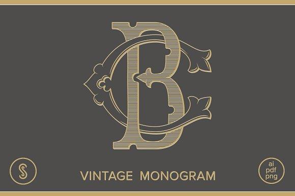 BC Monogram CB Monogramj