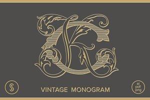 CK Monogram KC Monogram