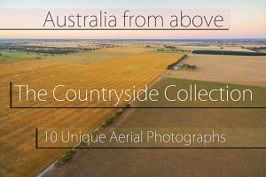 10 Aerial Countryside Landscapes