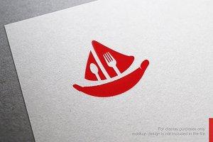 Marine Food Logo