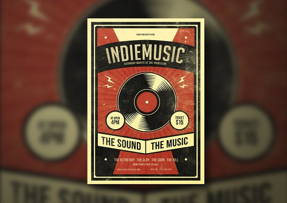 Indie Music Flyer