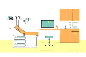 Doctor s Office Illustration