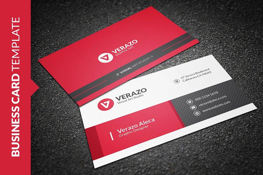 Strange Stylish Business Card Template Interior Design Ideas Skatsoteloinfo