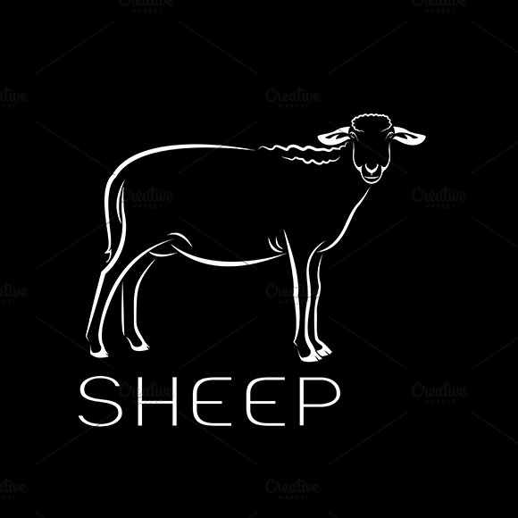 Vector Of A Sheep