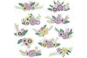 Bouquet Flower Clip Art