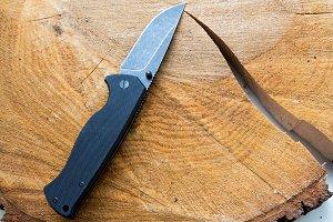 Pocket knife.