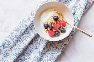 Healthy Breakfast Styled Stock