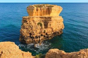 Albufeira summer coast, Portugal.