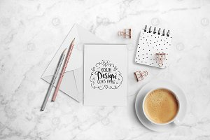 Greeting card mockup 24-0009