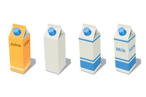 Milk Pack and Juice Pack