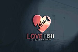 Love Fish Logo