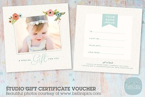 VC004 Photography Gift Certificate