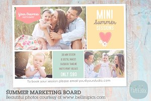 IH001 Summer Marketing Board
