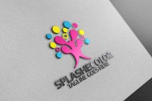 Splash Color Logo