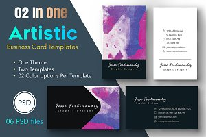 Artistic Business Card Template-004