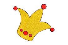 Golden gold king queen crown symbol