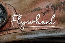 Flywheel Font + Swashes