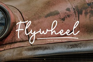 Flywheel Font + Swashes
