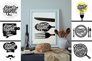 Bon Appetit Posters