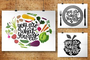 Lettering Food Quotes