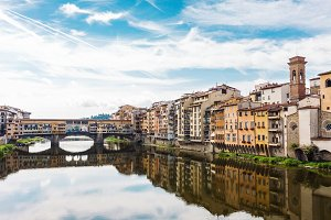 Classic Florence city view