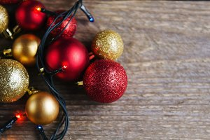 Christmas decorations balls