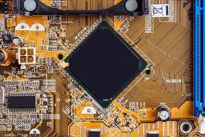 Circuit board with processor