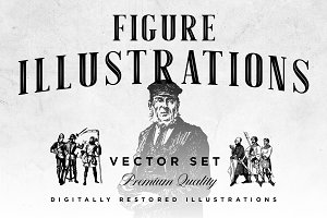 Figure Illustrations Vector Set
