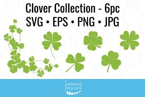 Shamrock Cut Files and Clipart