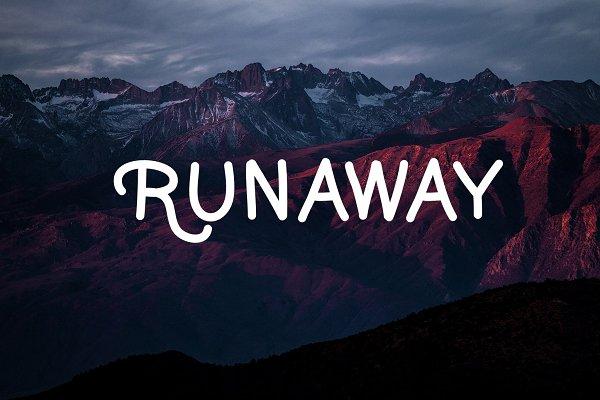 Runaway - Handwritten Font
