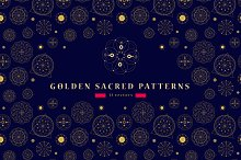 11 Sacred seamless patterns