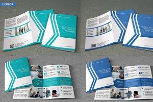 Bi-fold corporate brochure-V64