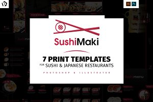 Sushi Templates Pack vol.2