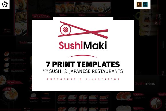 Sushi Templates Pack vol 2