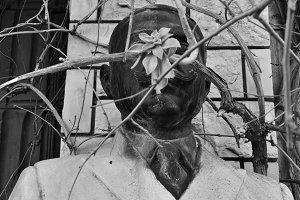 Statue Man Mustache