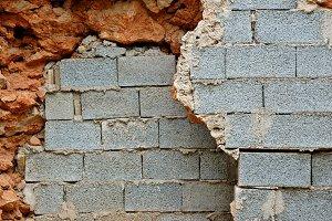 Stone Cinder Walls
