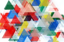 Triangles Abstract Pattern