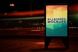 Billboard Mockup at Night #10