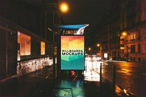 Billboard Mockup at Night #9