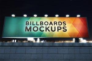 Billboard Mockup at Night #6