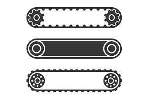 Conveyor Belt Line Set