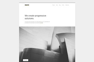 Creator. Minimal Theme for Creatives